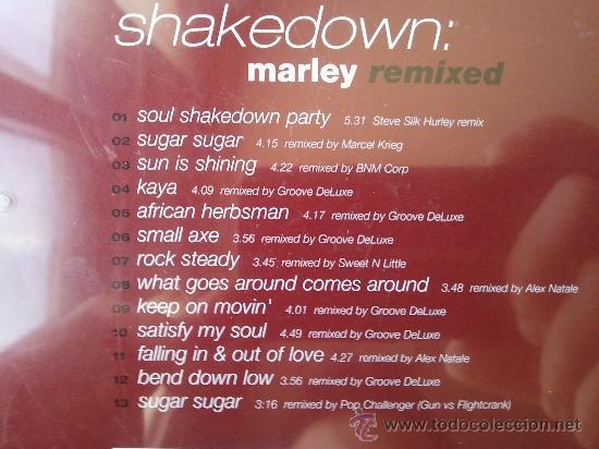 CDs de Música: SHAKEDOWN - BOB MARLEY - REMIXED - CD ALBUM - EDEL - 2001 - Foto 3 - 24822556