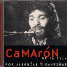 CDs de Música: CAMARÓN - POR ALEGRÍAS Y CANTIÑAS . Lote 26003711