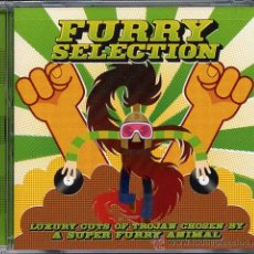 CDs de Música: FURRY SELECTION * CD * LUXURY CUTS OF TROJAN FOR SUPER FURRY ANIMALS * PRECINTADO!!. Lote 26308299