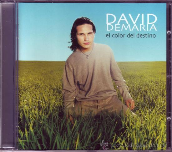 DAVID DE MARÍA - EL COLOR DEL DESTINO (COMO NUEVO). (Música - CD's Melódica )