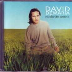 CDs de Música: DAVID DE MARÍA - EL COLOR DEL DESTINO (COMO NUEVO).. Lote 24599778