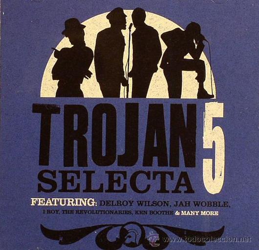 TROJAN SELECTA - 5 * CD * EL MEJOR REGGAE EN UN DISCO * PRECINTADO (Música - CD's Reggae)