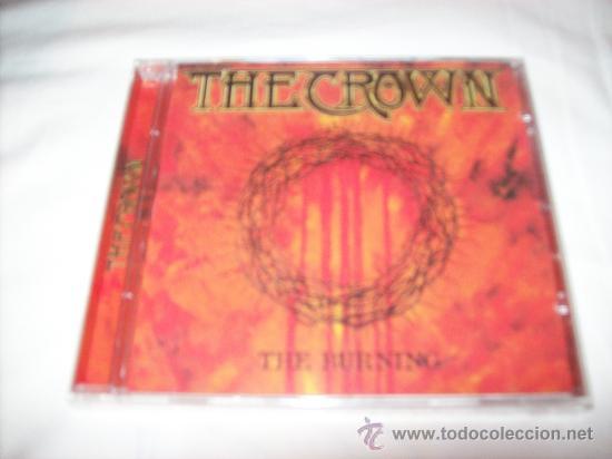 CD THE CROWN - THE BURNING - PRECINTADO (Música - CD's Heavy Metal)