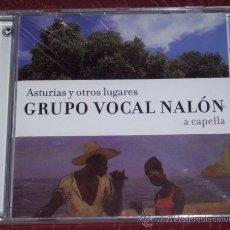 CDs de Música: CD ASTURIAS Y OTROS LUGARES POR EL GRUPO VOCAL NALÓN A CAPELLA, DIRECTOR ENRIQUE RODRÍGUEZ ALMANZA. Lote 24829482