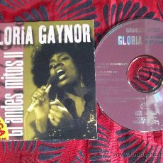 CDs de Música: GLORIA GAYNOR-GRANDES MITOS LL-NEVER CAN SAY ...I WILL SURVIVE-SHES OUT..BROKEN...EVERYBODY...2000. Lote 24867841