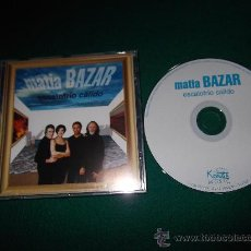 CDs de Música: MATIA BAZAR-ESCALOFRIO CALIDO-SOLO TU-QUISIERA VERTE-NO BAJES LOS OJOS-TU DOVE SEI-ETC-2000-. Lote 24999776