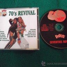CDs de Música: 70` REVIVAL-KINCADE-THE SWEET-BARRY BLUE-GEORGE MC CRAE-CHICORY TIP-MUD-MUNGO JERRY-ETC...1996-. Lote 25000700