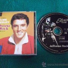 CDs de Música: ELVIS PRESLEY-JAILHOUSE ROCK-LOVE ME TENDER-1997-. Lote 25000798