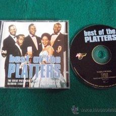 CDs de Música: THE PLATTERS-BEST OF THE PLATTERS-1997-. Lote 25000981