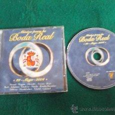 CDs de Música: BODA REAL-MUSICA PARA LA BODA REAL-2004-. Lote 25001329