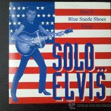 CDs de Música: BOBBY SOLO - SOLO... ELVIS - CD SINGLE PROMO - 3 TRACKS - 1997. Lote 25132418