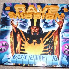 CDs de Música: RAVE MISSION 5 - TECHNO - RAVE - 2CD'S. Lote 26549664