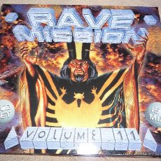 CDs de Música: RAVE MISSION 11 - TECHNO RAVE - 2 CD'S. Lote 31415839