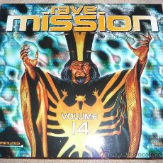 CDs de Música: RAVE MISSION 14 - TECHNO - RAVE - 2CD'S. Lote 26549673