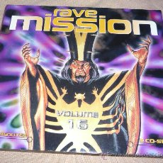 CDs de Música: RAVE MISSION 16 - TECHNO - RAVE - 2CD'S. Lote 26549681