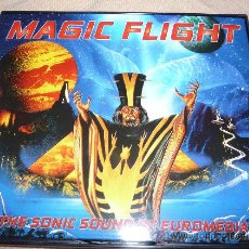 CDs de Música: MAGIC FLIGHT - THE SONIC SOUND OF EUROMEDIA - TECHNO - RAVE. Lote 26558977