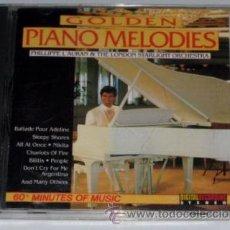 CDs de Música: GOLDEN PIANO MELODIES - PHILLIPE L' AURAN - THE LONDON STARLIGHT ORCHESTRA - 1988 DIGITAL - CD. Lote 122167668