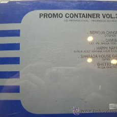 CDs de Música: PROMO CONTAINER VOL.3. GHETTO VOICE; SERIOUS DANGER; HAPPY NATION; CAMISRA Y SHARADA HOUSE GANG. . Lote 25230075