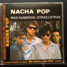 CDs de Música: NACHA POP - MÁS NÚMEROS, OTRAS LETRAS - CD. Lote 26851437