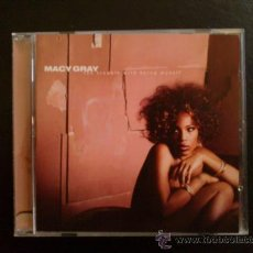 CDs de Música: MACY GRAY - THE TROUBLE WITH BEING MYSELF - CD. Lote 27515579