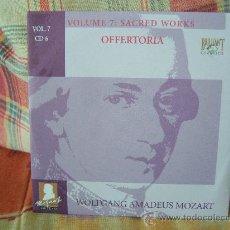 CDs de Música: MOZART OFFERTORIA MARIETTA FISCHESSER, BARBARA WERNER, BENOIT HALLER, CHRISTOF FISCHESSER. Lote 25743046