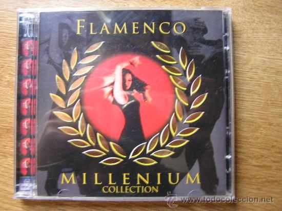 FLAMENCO MILLENIUM 2 CDS. PEPE PINTO MAIRENA PAVON MANOLITA JEREZ MANOLO CARACOL NIÑA PEINES VALLEJO (Música - CD's Flamenco, Canción española y Cuplé)