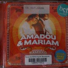 CDs de Música: MAMADOU & MARIAM. DIMANCHE A BAMAKO. PRACTICAMENTE NO USADO.. Lote 26921793