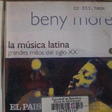 CDs de Música: BENY MORÉ. PRACTICAMENTE NO USADO.. Lote 27112075