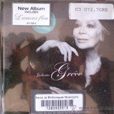CDs de Música: JULIETTE GRÉCO. PRACTICAMENTE NO USADO.. Lote 27206601