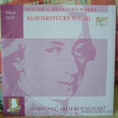 CDs de Música: MOZART KLAVIERSTÜCKE VOL. III LUC DEVOS, BERNARD FOCCROULLE, DENNIS JAMES. Lote 25792005