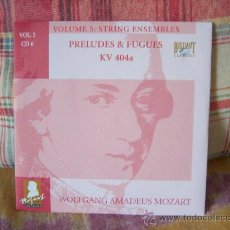CDs de Música: MOZART PRELUDES & FUGUES KV 404A RÉMY BAUDET, STAAS SWIERSTRA, RAINER ZIPPERLING. Lote 25909419
