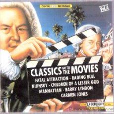 CDs de Música: CLASSICS GO TO THE MOVIES VOL. 3 - LASERLIGHT1990. Lote 25748165
