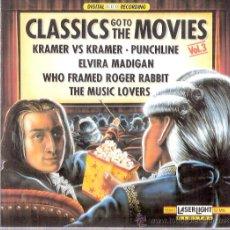 CDs de Música: CLASSICS GO TO THE MOVIES VOL. 4 - LASERLIGHT1990. Lote 25748200