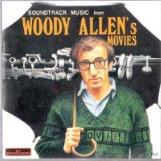 CDs de Música: WOODY ALLEN - SOUNDTRACK -. Lote 27214182