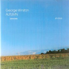 CDs de Música: AUTUMN	GEORGE WIINSTON	WINDHAM HILL RECORDS 1980. Lote 26277867