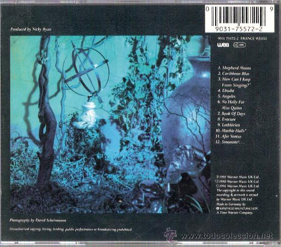 CDs de Música: Shepherd MoonEnyaWea1991 - Foto 2 - 26133389