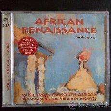 CDs de Música: AFRICAN RENAISSANCE - VOL.4 - DOBLE CD 2 CD'S - NUEVO, AÚN PRECINTADO. Lote 27291775