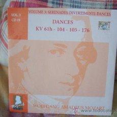 CDs de Música: MOZART DANCES KV 61H-104-105-176 TARAS KRYSA. Lote 25952521