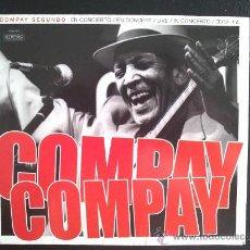 CDs de Música: COMPAY SEGUNDO EN CONCIERTO - DOBLE CD. Lote 25936533
