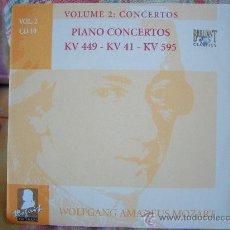 CDs de Música: MOZART PIANO CONCERTOS KV 449, 41 & 595 DEREK HAN, PAUL FREEMAN. Lote 26108504