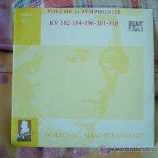 CDs de Música: MOZART SYMPHONIES KV 182, 184, 196, 201 & 318 JAAP TER LINDEN. Lote 26128258