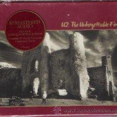 CD de Música: U2 - THE UNFORGETTABLE FIRE (2CD + LIBRO 36 HOJAS). Lote 26039486