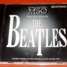 CDs de Música: THE MERSEY SOUND ORCHESTRA / MSO - PLAYS THE MUSIC OF THE BEATLES - CD - COMO NUEVO. Lote 27474624