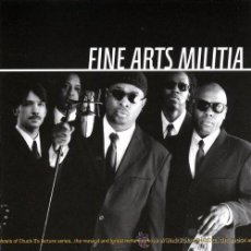 CDs de Música: FINE ARTS MILITIA ; TITULO: WE ARE GATHERED HERE... CD ORIGINAL CON 10 CANCIONES. Lote 26096862