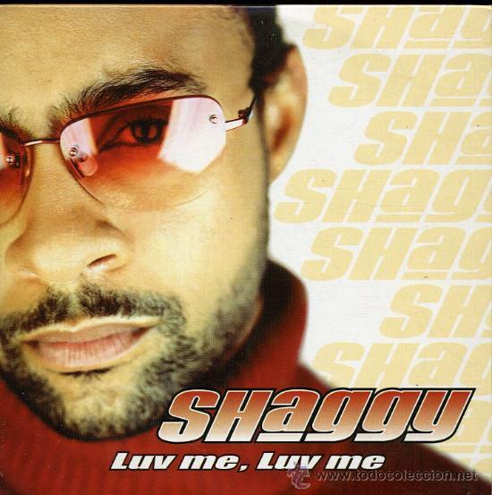 SHAGGY - LUV ME, LUV ME - CD SINGLE 2001 (Música - CD's Reggae)
