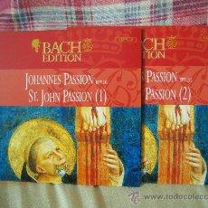 CDs de Música: (2CD) BACH JOHANNES PASSION BWV 245 JOHN MARK AINSLEY. Lote 26373501