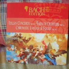 CDs de Música: BACH ITALIAN CONCERTO BWV 971 PIETER-JAN BELDER. Lote 26528820