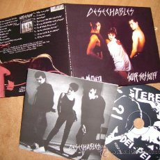 CDs de Música: DESECHABLES-LA MAQUETA+ GOLPE TRAS GOLPE,CD-GARAGE PUNK. Lote 40720879