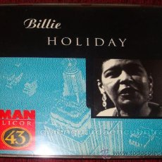 CDs de Música: BILLIE HOLIDAY MAN LICOR 43, 1996 MANDARIM RECORDS . Lote 26690631