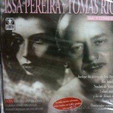 CDs de Música: 2CDS-ISSA PEREIRA Y TOMÁS RIOS VOL1(1946-48)39 TEMAS ORIGINA REMASTERI+FOLLETO INFORMATIVO-NUEVO-PRE. Lote 31090762